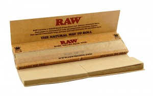 Bletki z filtrami - Connoisseur King  Size with Tips - RAW