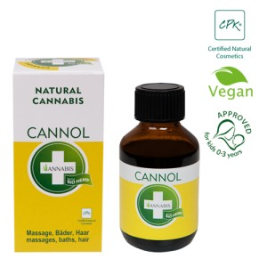 Cannol 30ml - olejek konopny do masażu - Annabis